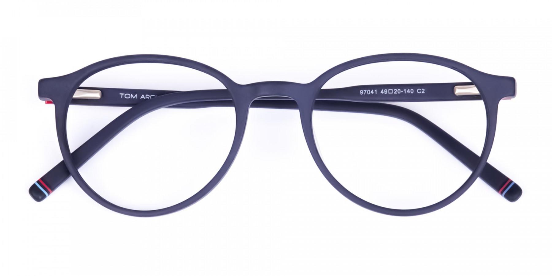 Matte-Black-Rimmed-Round-Glasses-1