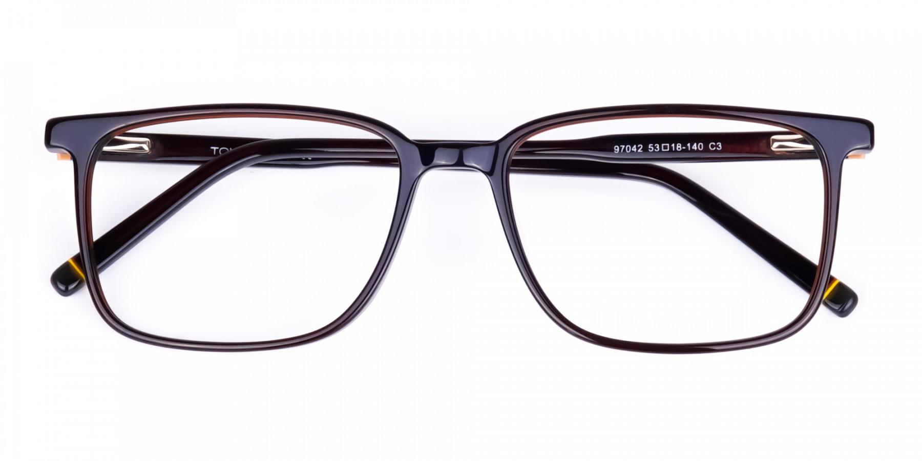 Dark-Brown-Rim-Rectangular-Glasses-1