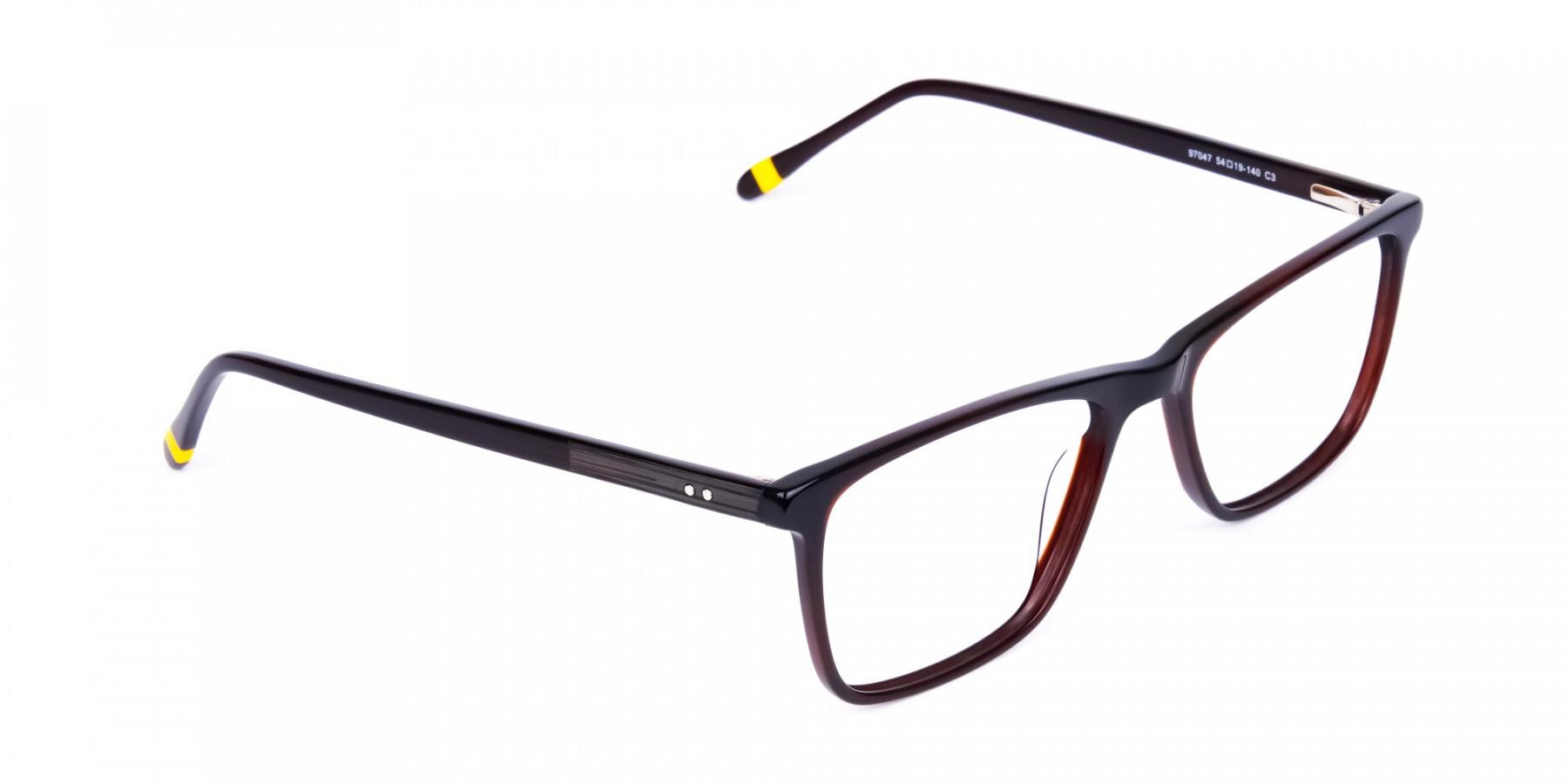 Dark-Brown-Full-Rimmed-Rectangular-Glasses-1