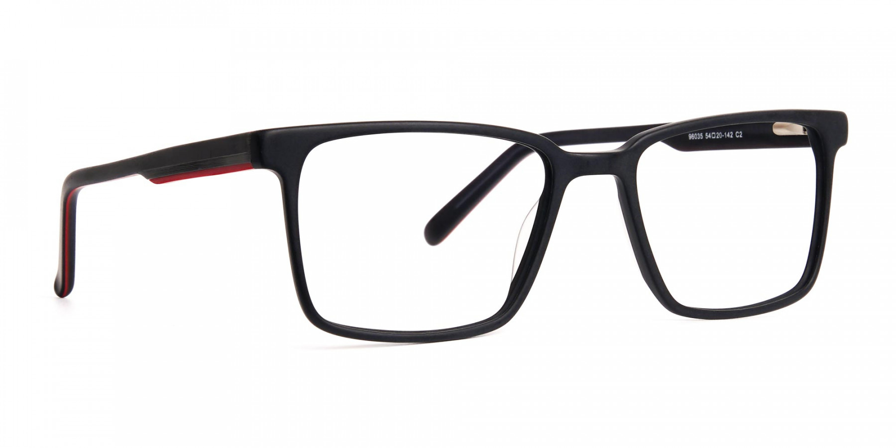 Matte-Black-Designer-Rectangular-Glasses-frames-1