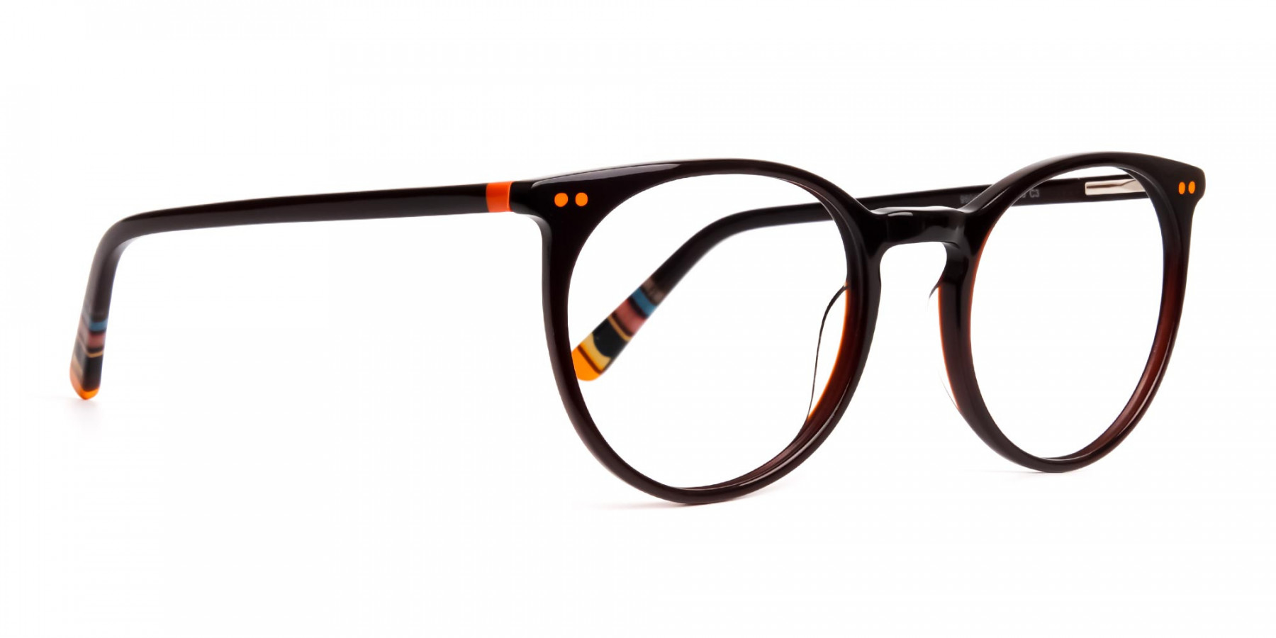 Dark-Light-Brown-Designer-Round-Glasses-frames-1