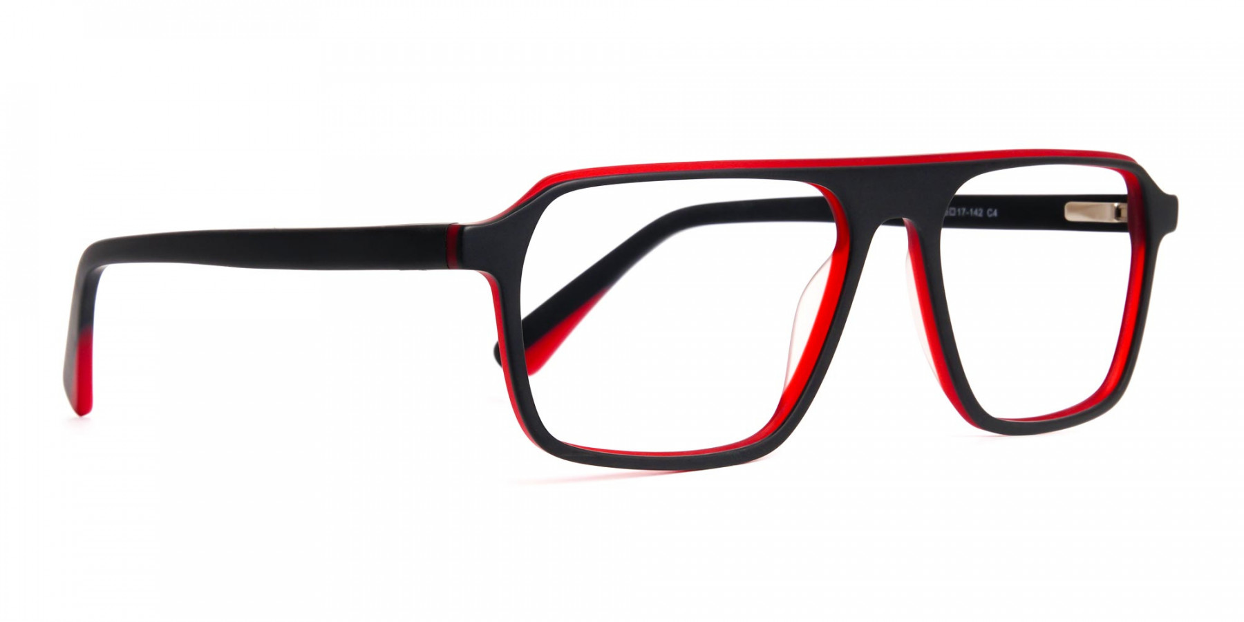 Black-and-Red-Rectangular-Full-Rim-Glasses-frames-1