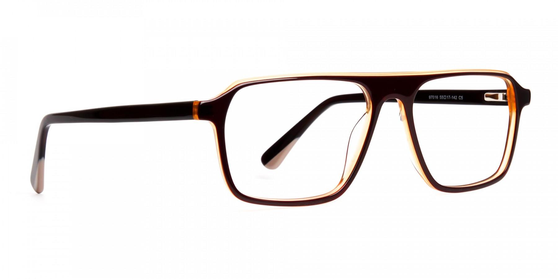 Brown-and-Black-Rectangular-Full-Rim-Glasses-frames-1