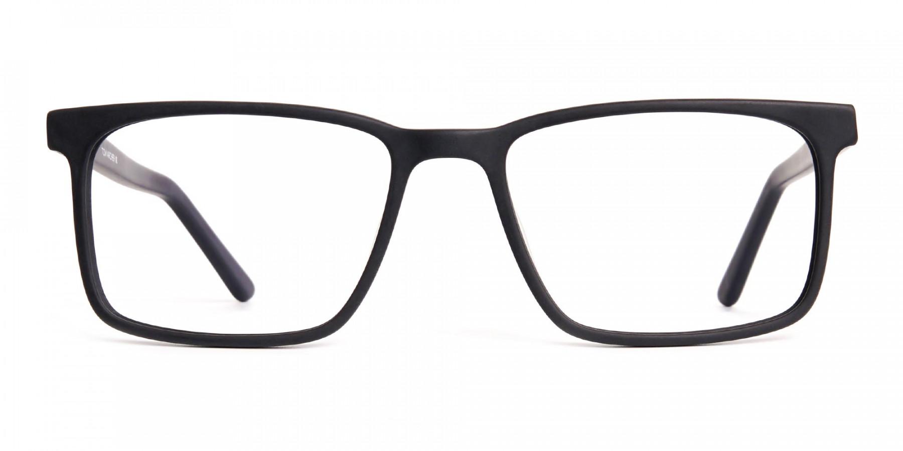designer-matte-black-rectangular-glasses-frames-1