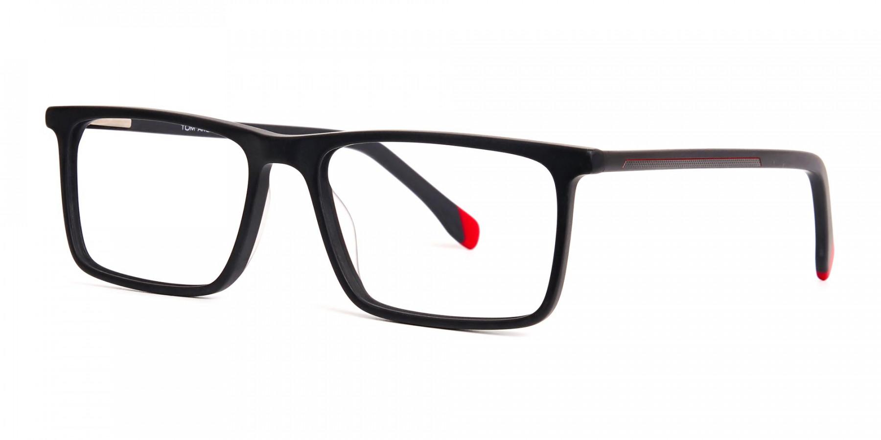 matte-grey-and-red-rectangular-glasses-frames-1