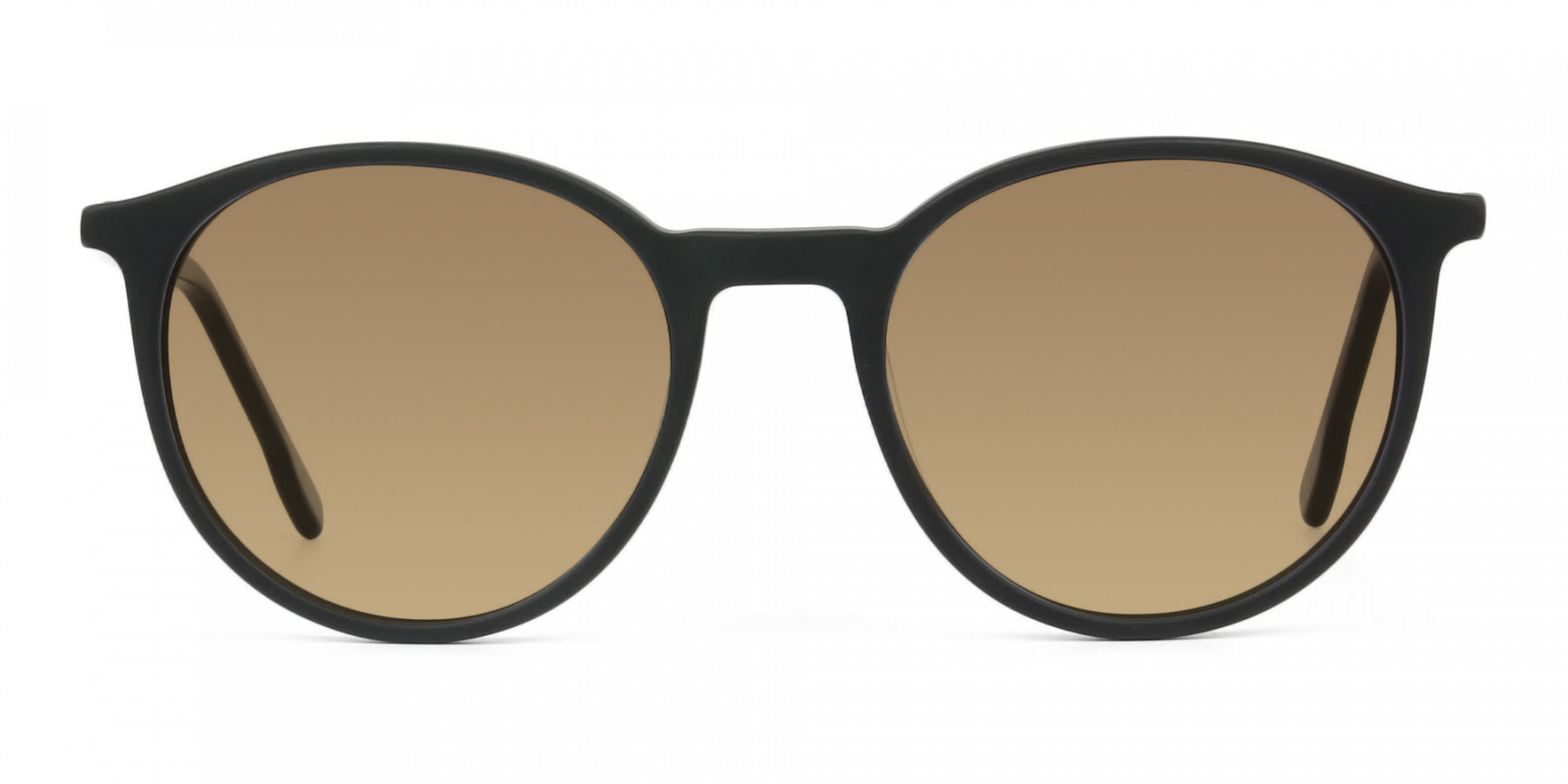 dark-brown-matte-black-sunglasses - 3