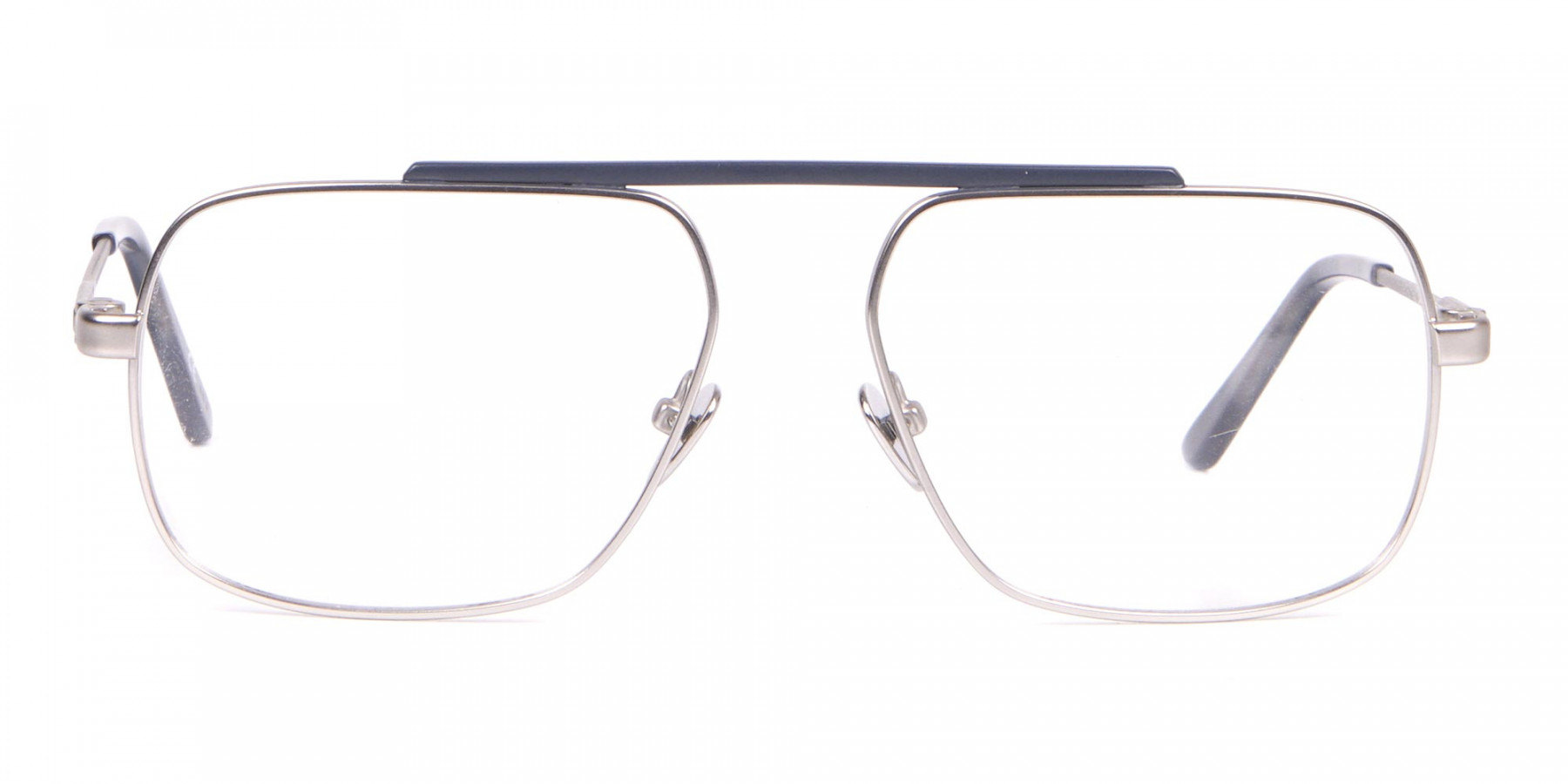 Calvin Klein CK18106 Bridgeless Silver Glasses Rectangular-1