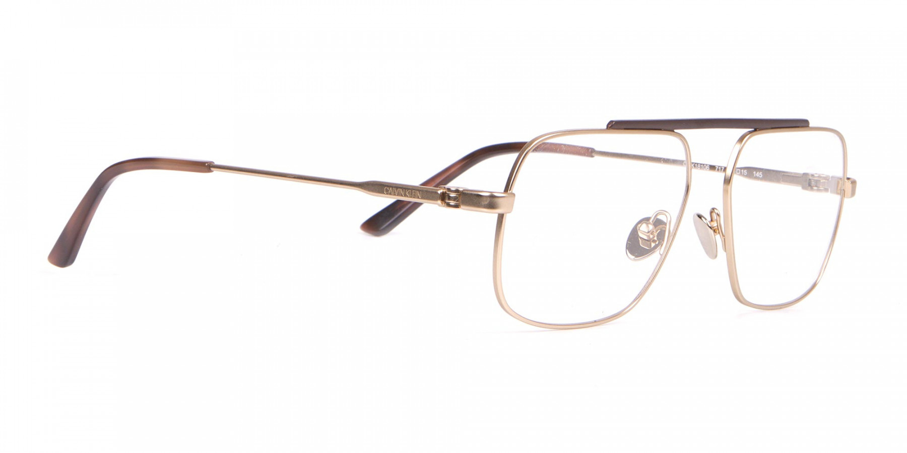 Calvin Klein CK18106 Gold Metal Glasses Rectangular-1