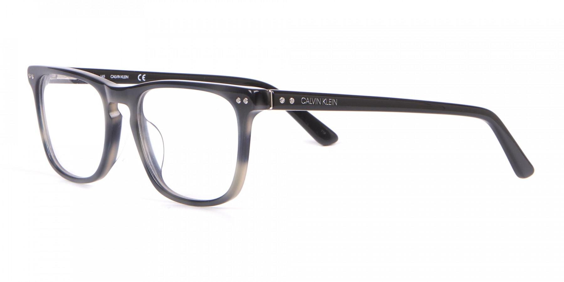Calvin Klein CK18513 Rectangular Glasses in Grey Tortoise-1