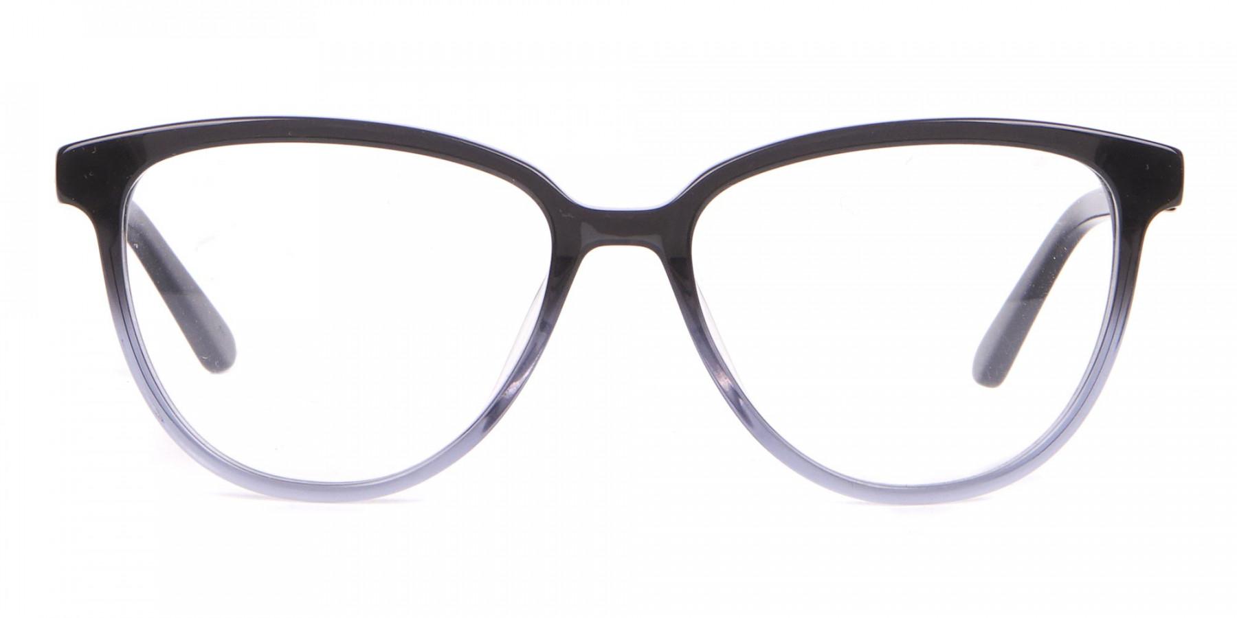 Calvin Klein CK18514 Women Cateye Glasses In Black Crystal-1