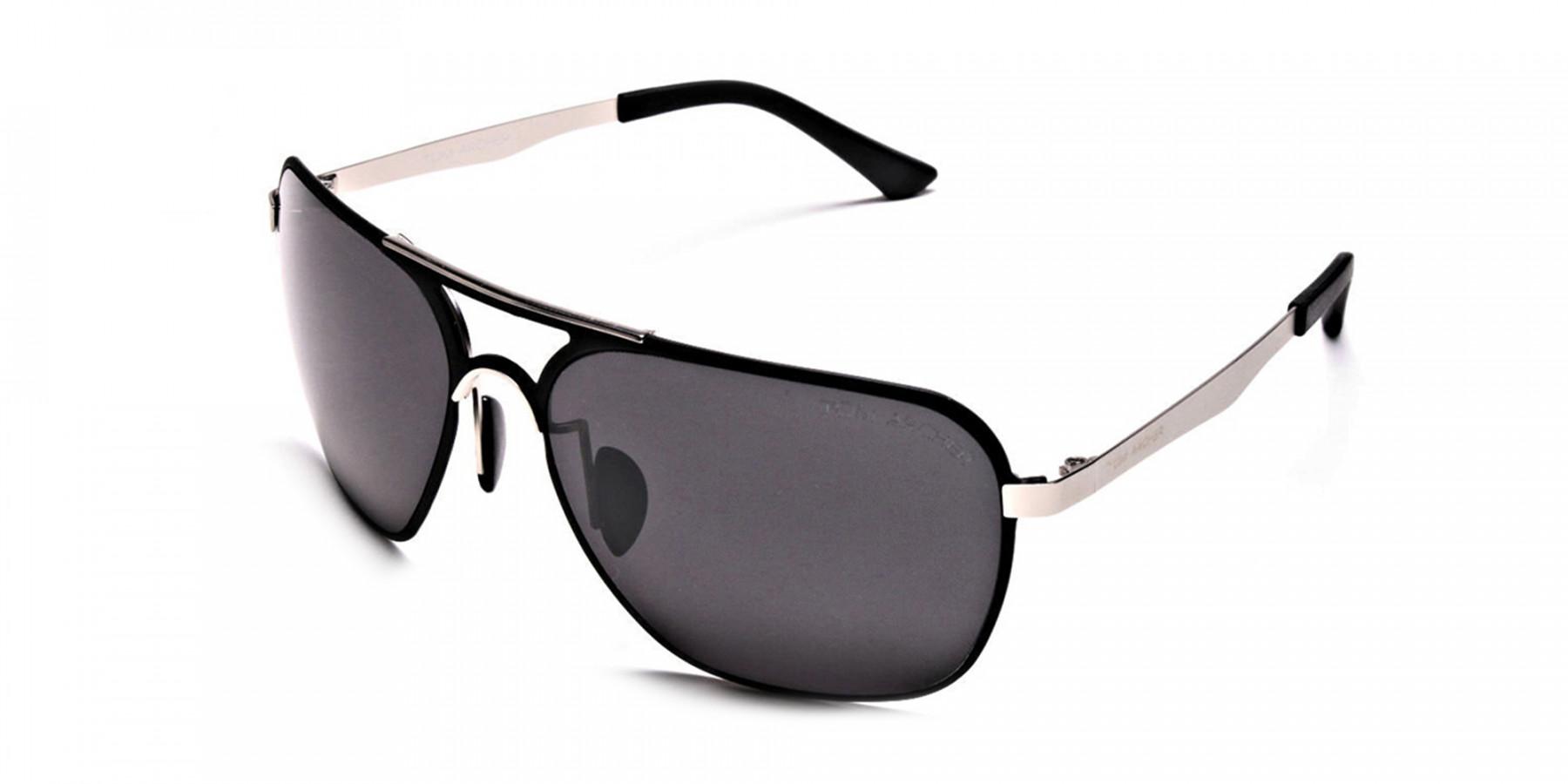 Sleek Silver & Black  -3