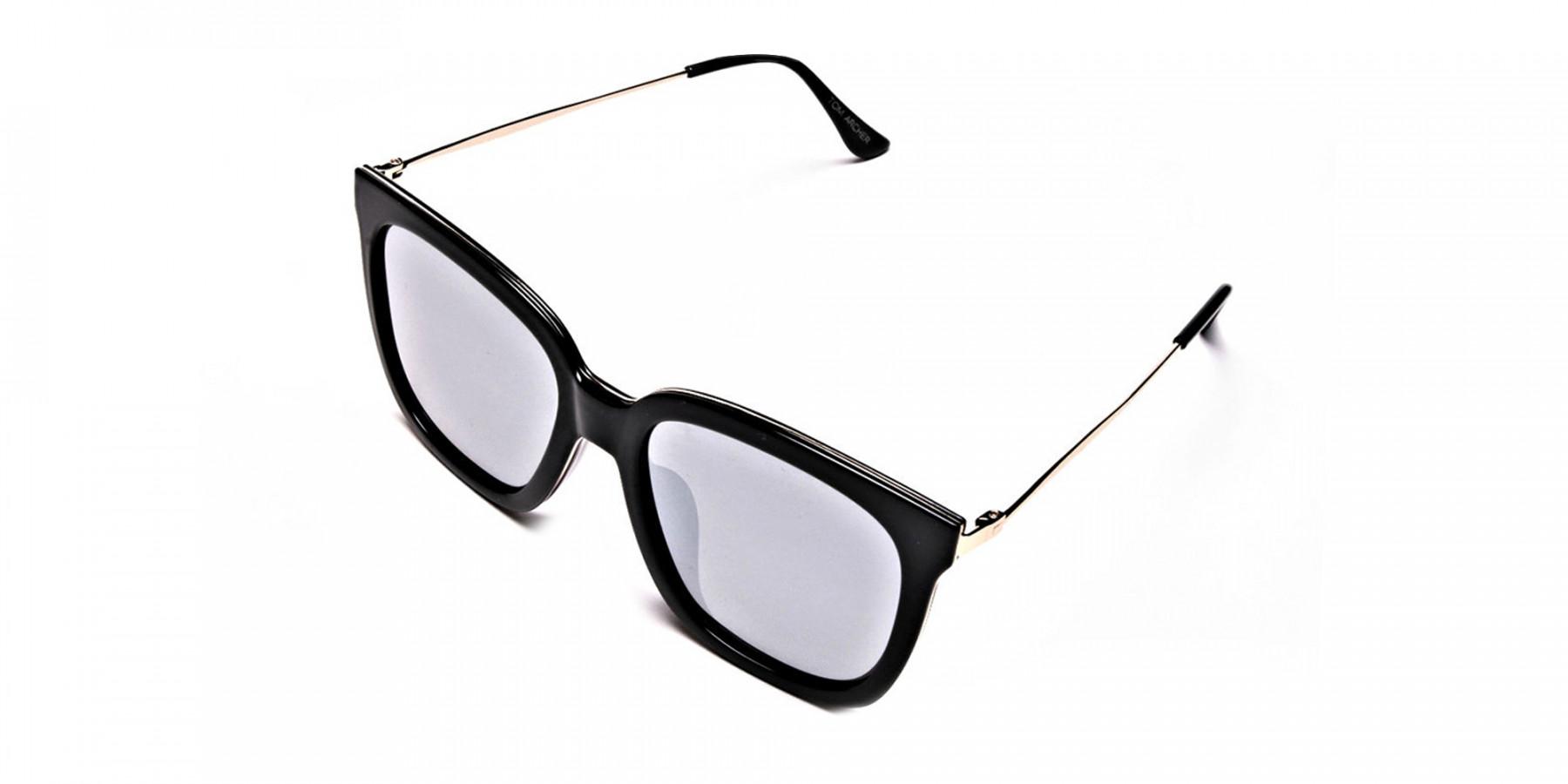 Black & Gold Trophy Sunglasses -2