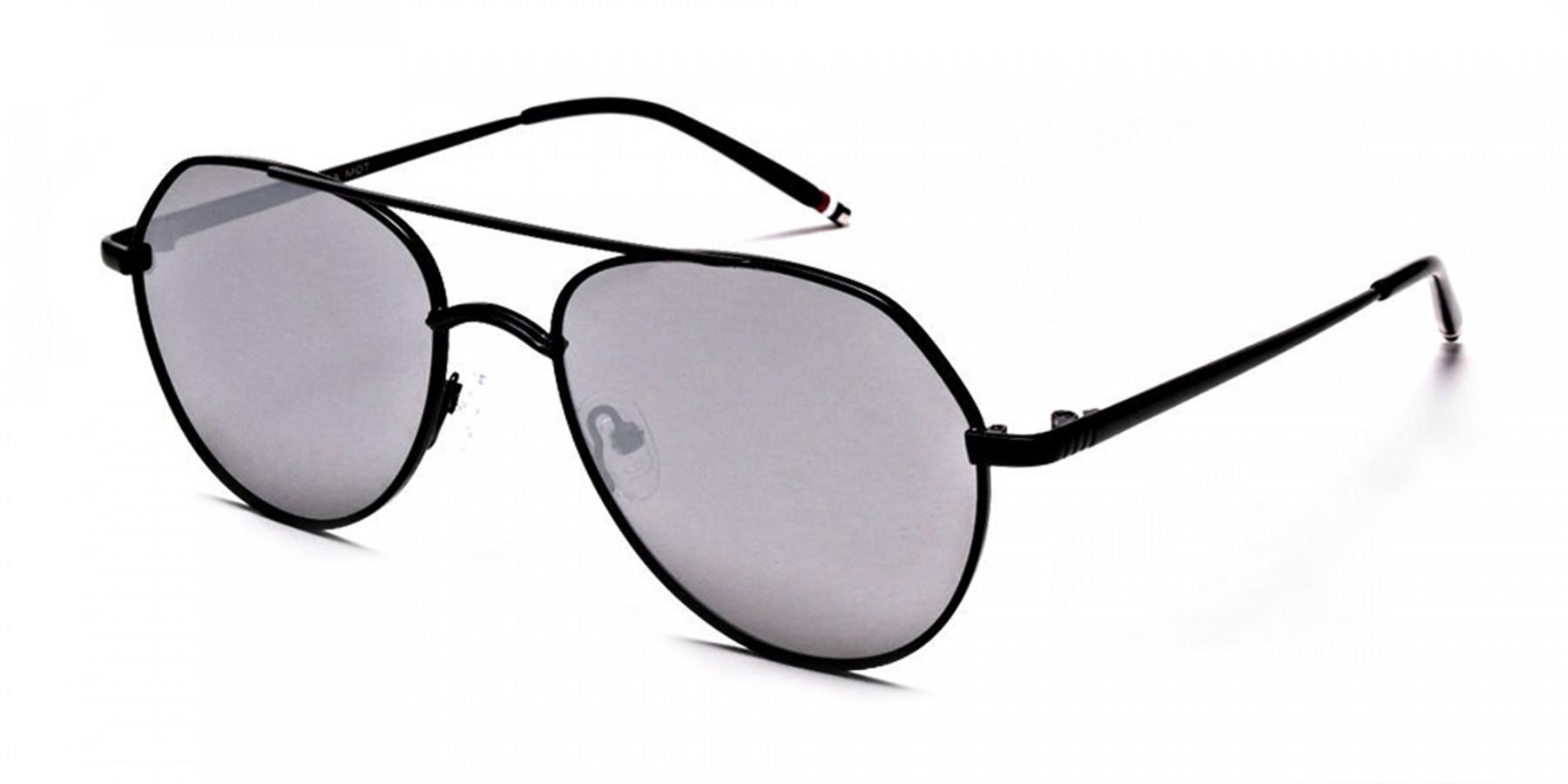 Silver Grey Sunglasses -2