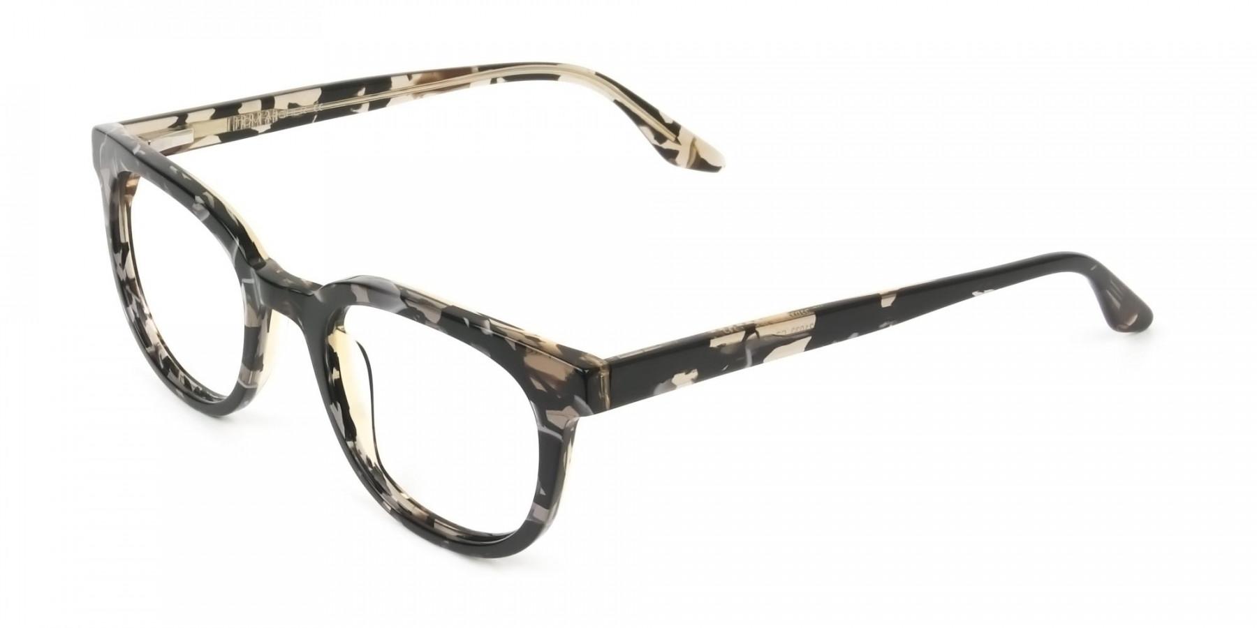 Havana & Tortoise Vintage Horn Glasses - 1