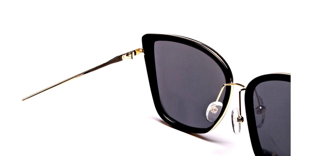 Cat Eye Dark Black -2