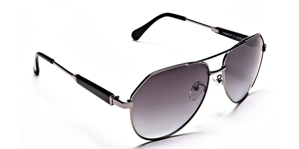 Gunmetal Grey & Black  -2
