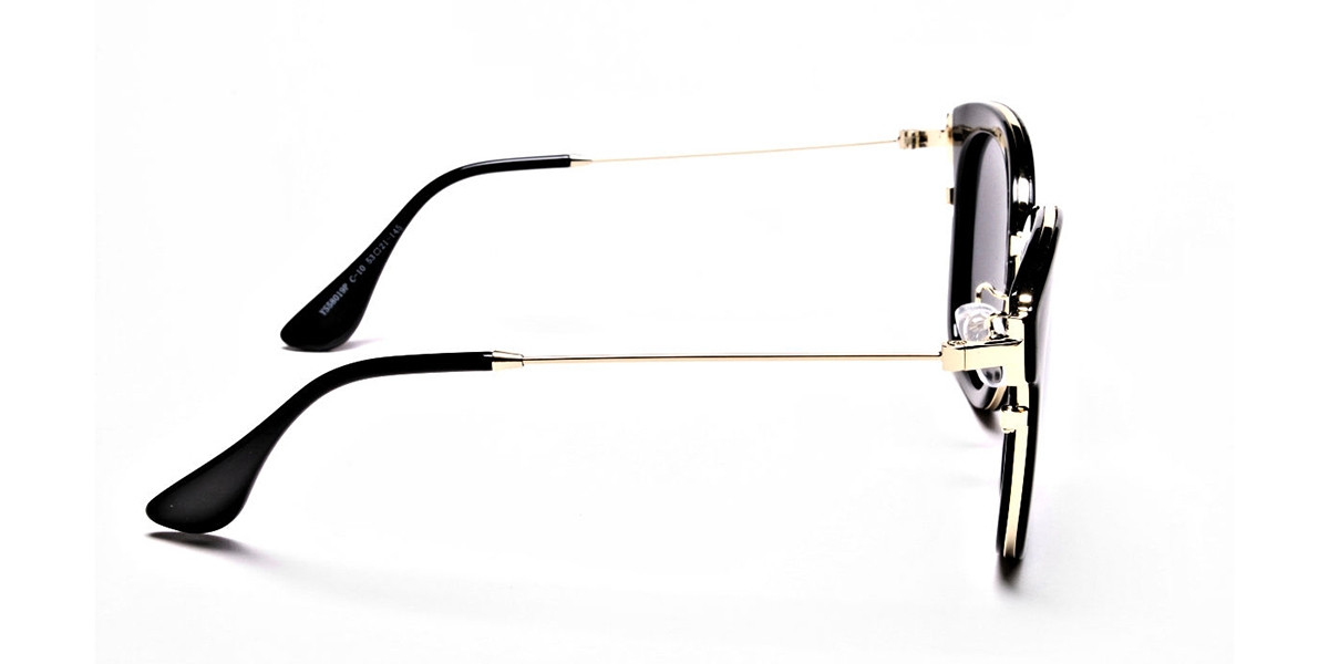 Sunglasses Black & Gold -2