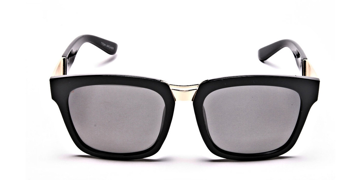 Wayfarers Black and Grey Sunglasses -2