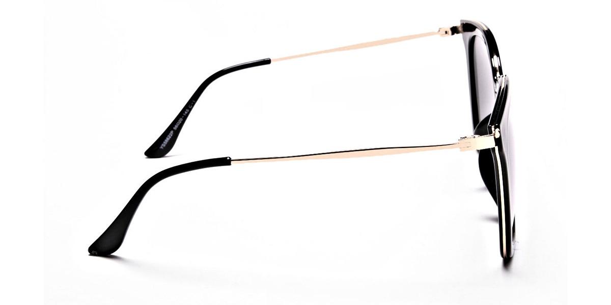 Black & Grey Shaded Sunglasses -2
