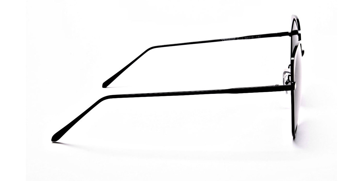 Dark Black Sunglasses -2