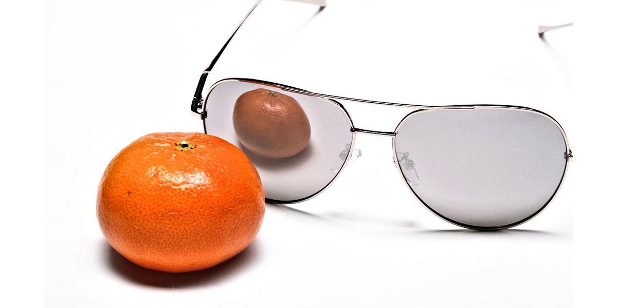 Silver Sunglasses -2
