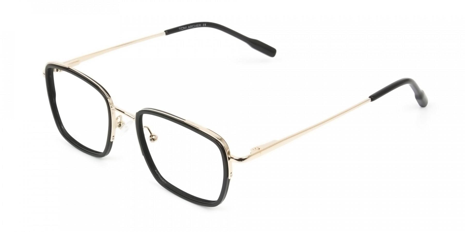 Spider Man Glasses in Black & Gold - 1