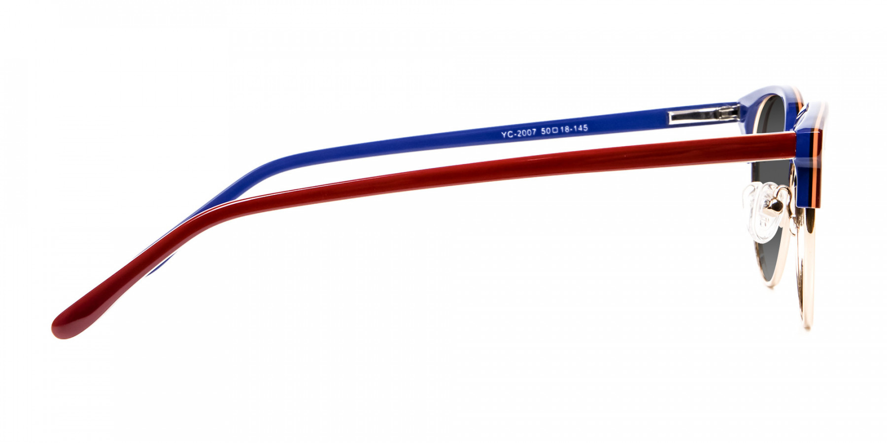 Mahogany Browline Sunglasses Online UK-3