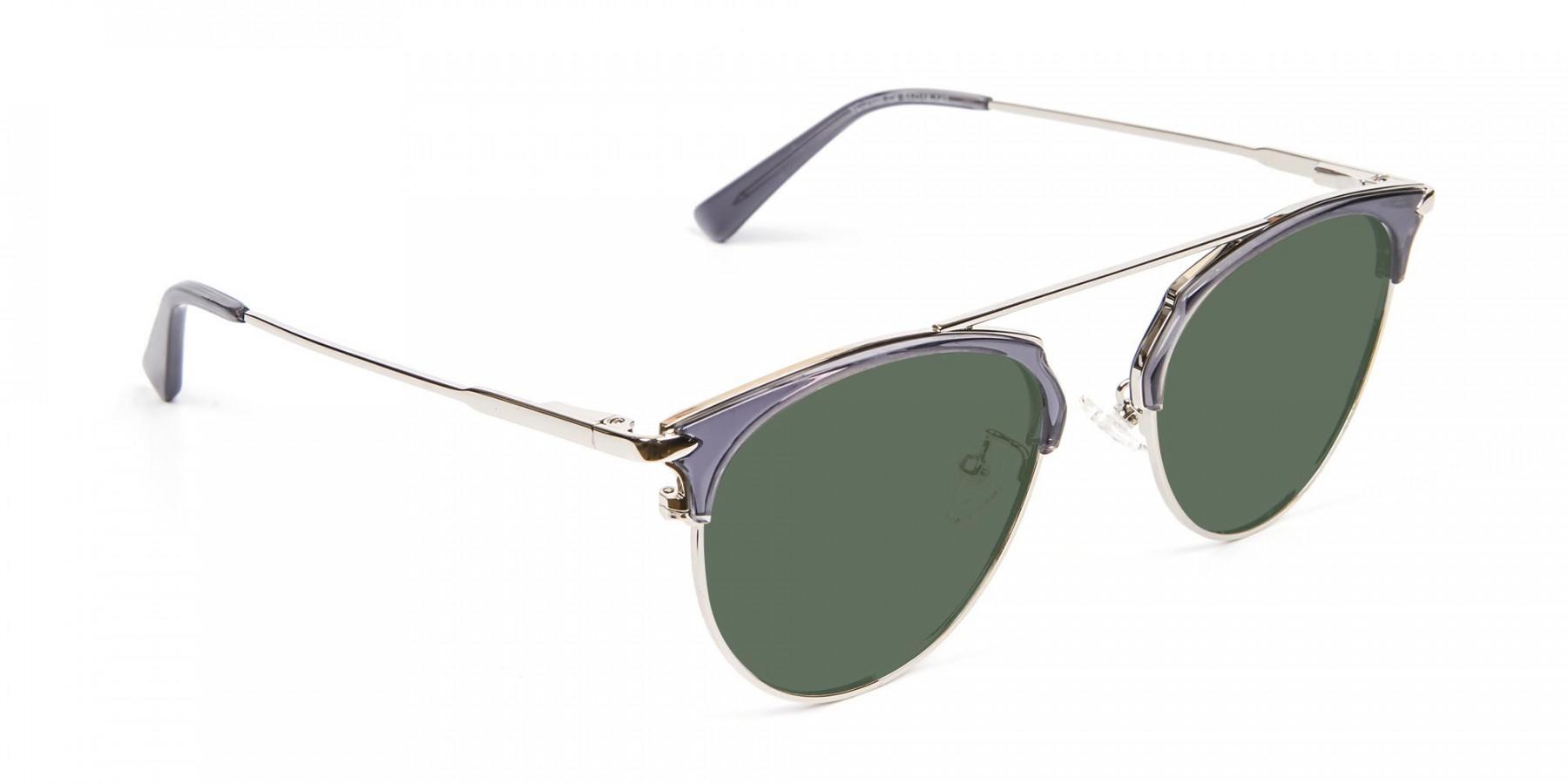 Translucent Frame Sunglasses - 3