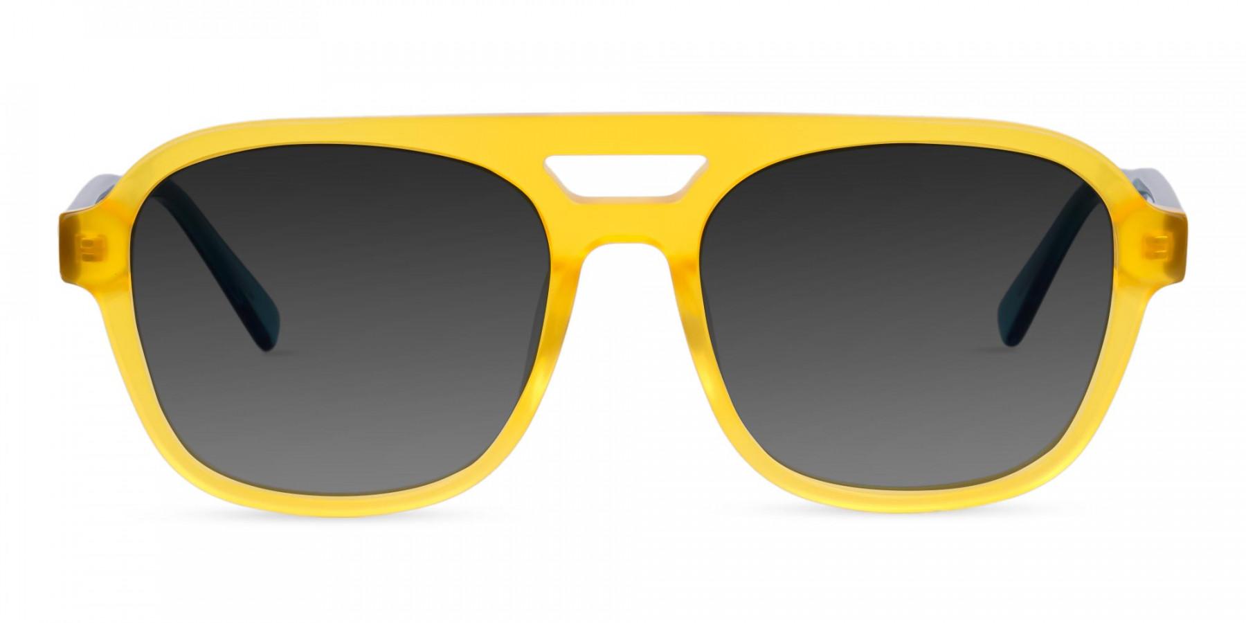 Yellow-Aviator-Sunglasses-with-Grey-Tint-3