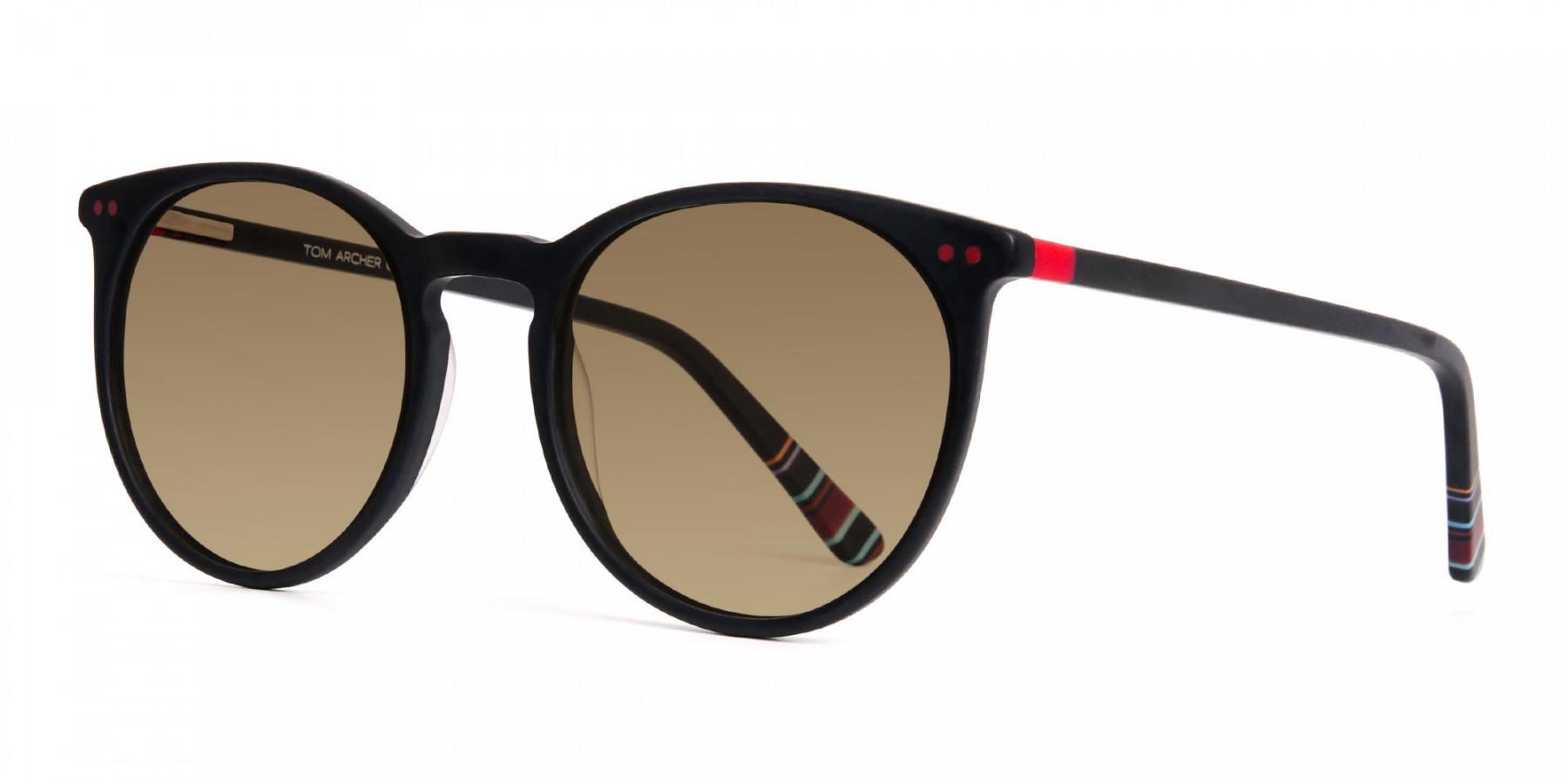 matte-black-designer-round-brown-tinted-sunglasses-frames-3