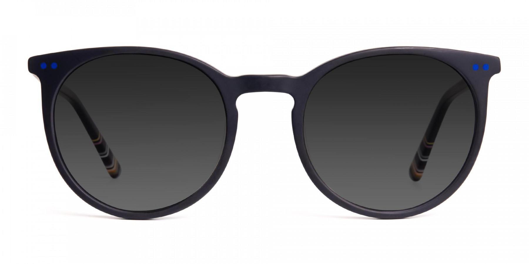 matte-black-designer-indigo-blue-grey-tinted-sunglasses-frame-3
