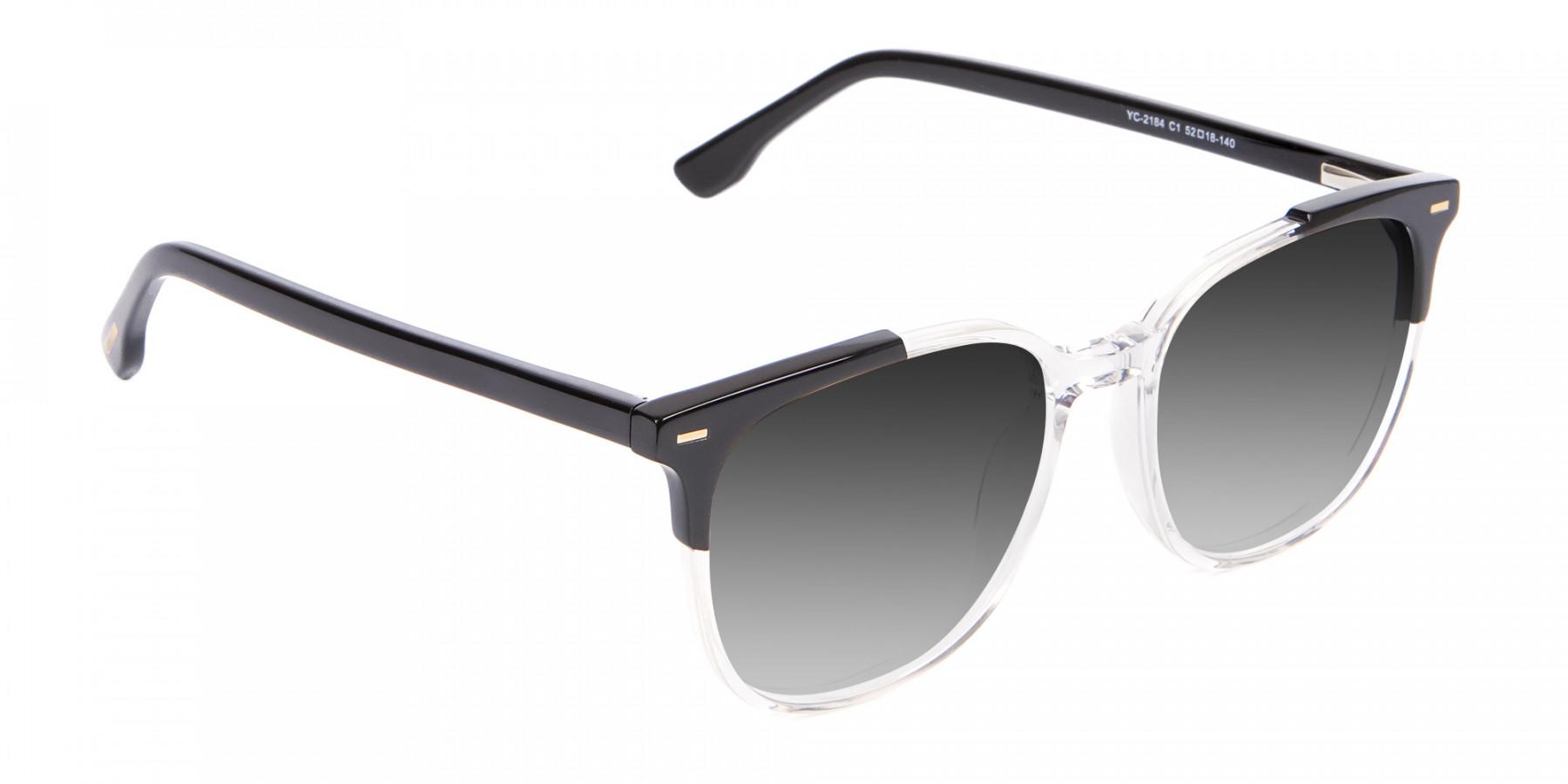 Crystal Retro Wayfarer Sunglasses Online UK-3