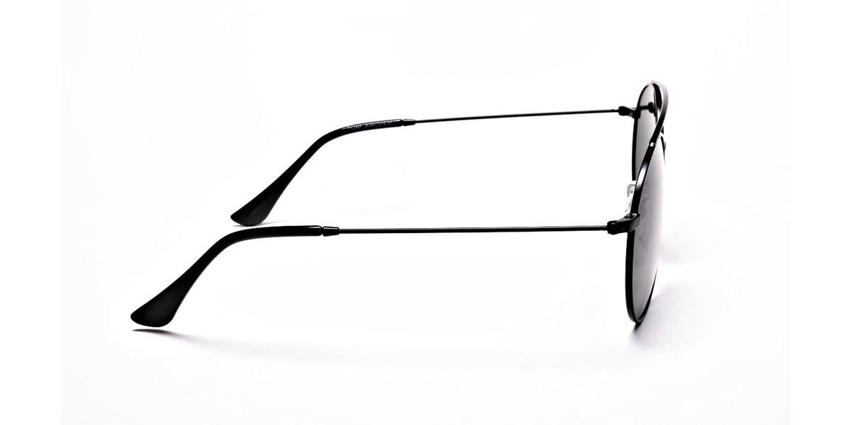 Green Round Sunglasses - 2
