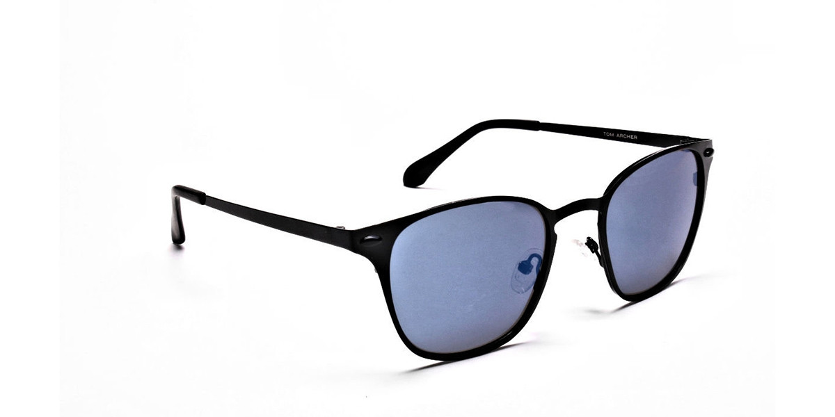 Blue Tinted Sunglasses -2