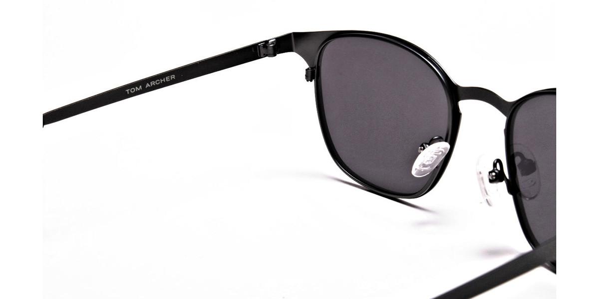 trendy gunmetal sunglasses -2