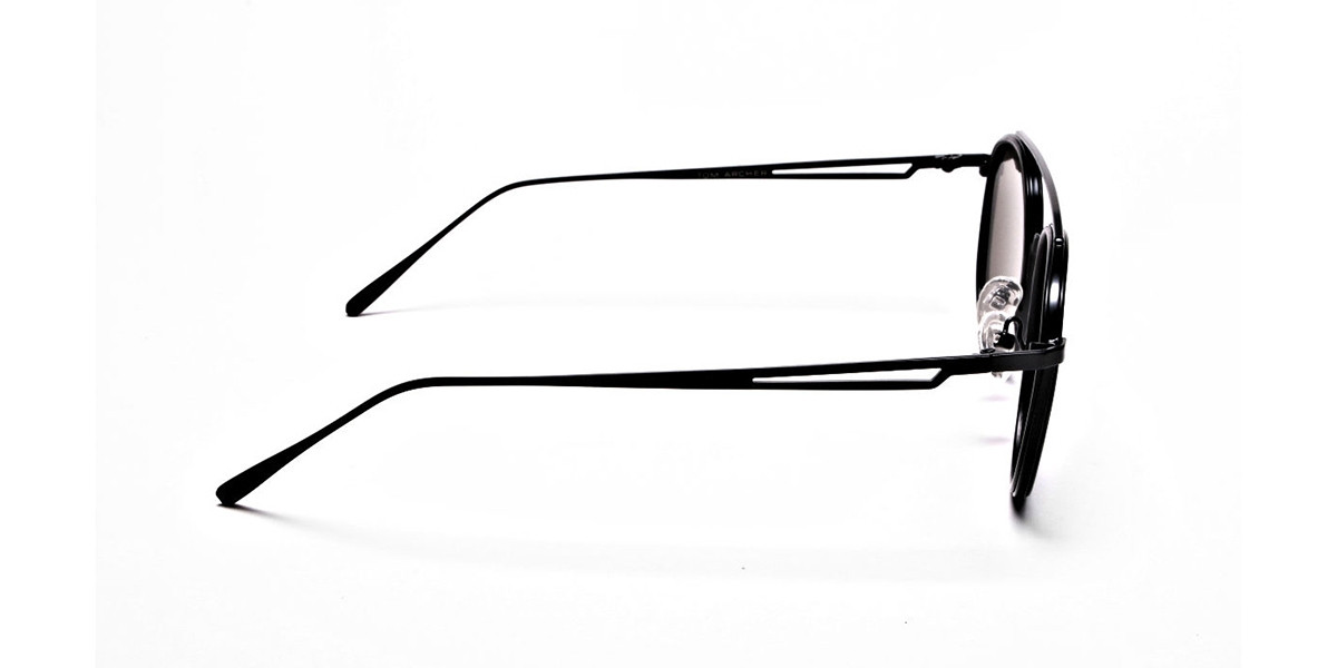 Classic Double-Bridged Sunglasses - 2