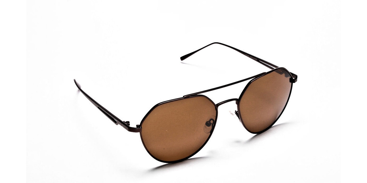 Classic Brown Style Avatar Shades -2