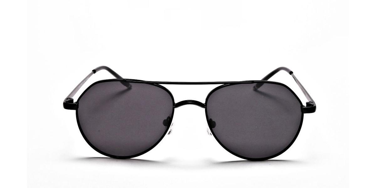 Black & Grey Tinted Sunglasses -2