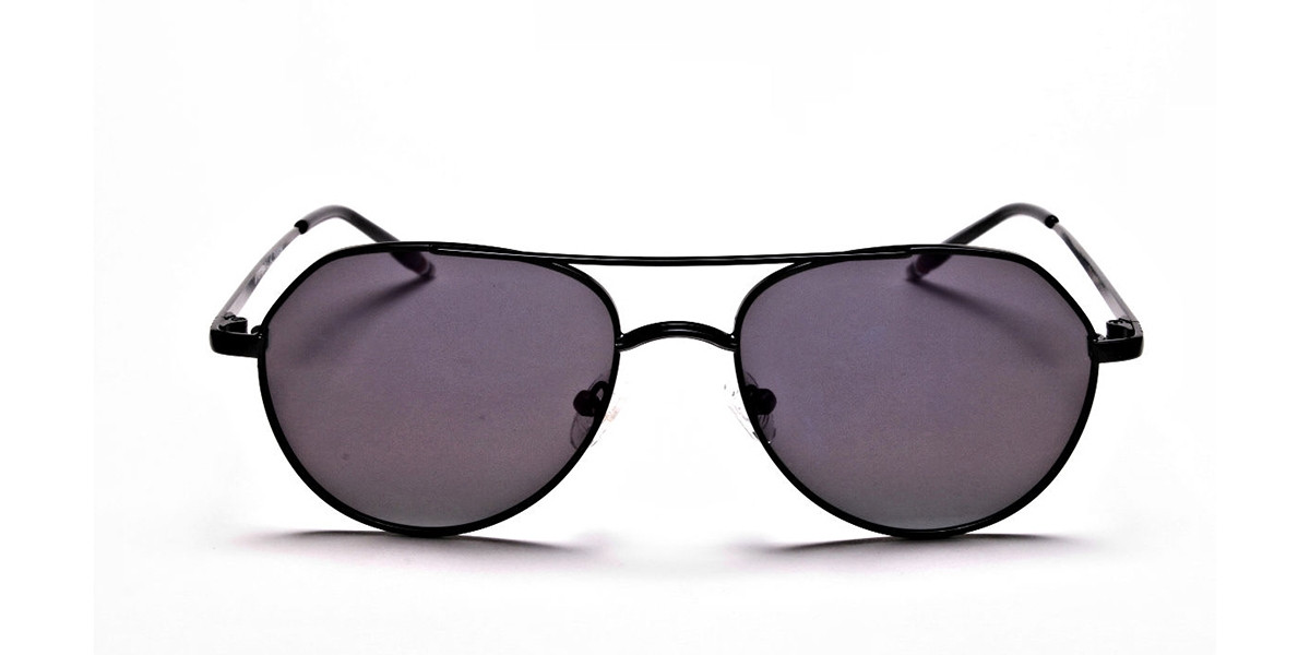 Dark Purple Tinted Sunglasses -3