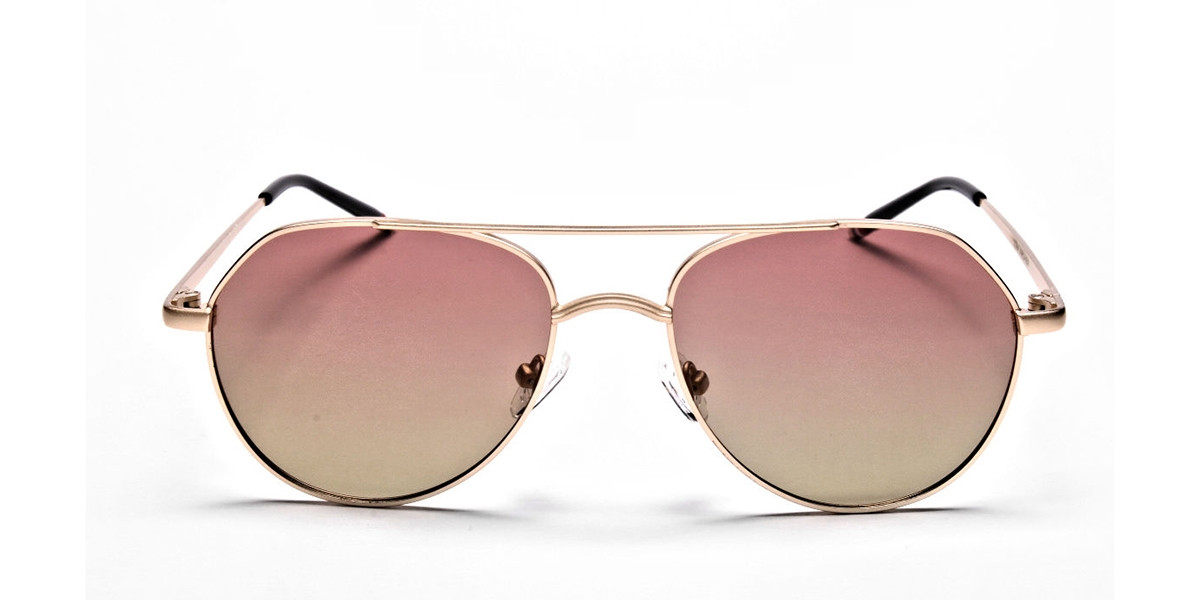 Gold & Red Sunglasses -2