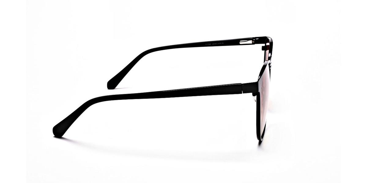 Red Yellow Gradient Sunglasses-3