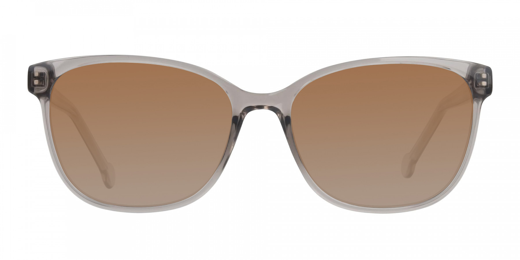 Crystal Grey Frame Sunglasses - 3