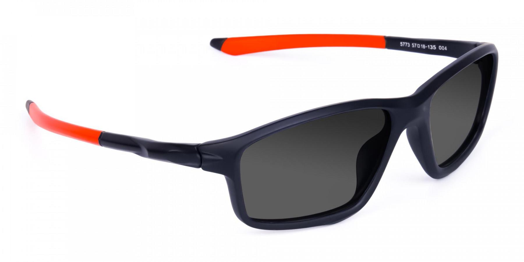 Grey Running Sunglasses -3
