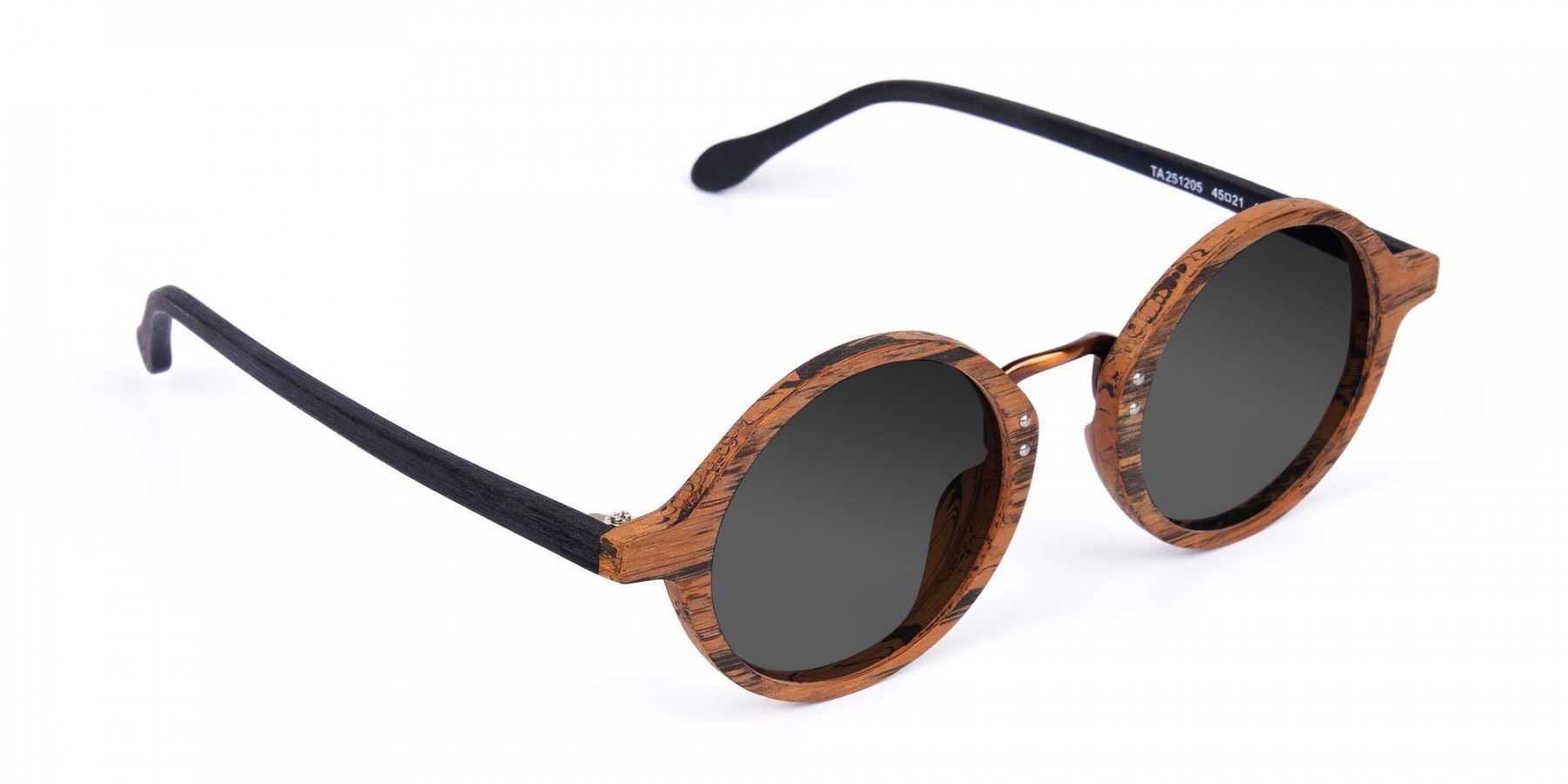 Round-Brown-Wood-Sunglasses-With-Grey-Tint-3