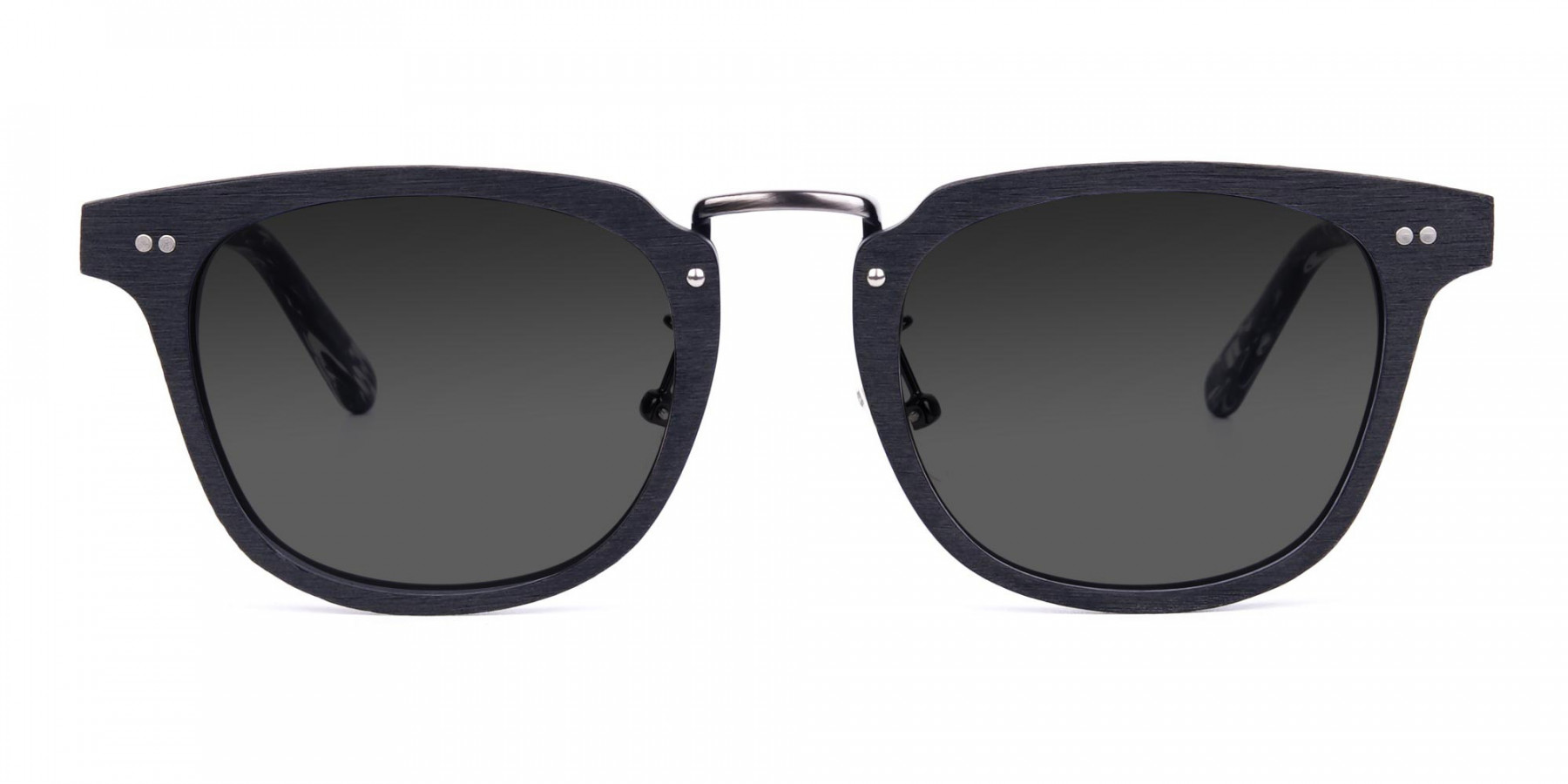 Wooden-Black-Square-Frame-Sunglasses-with-Green-Tint-3