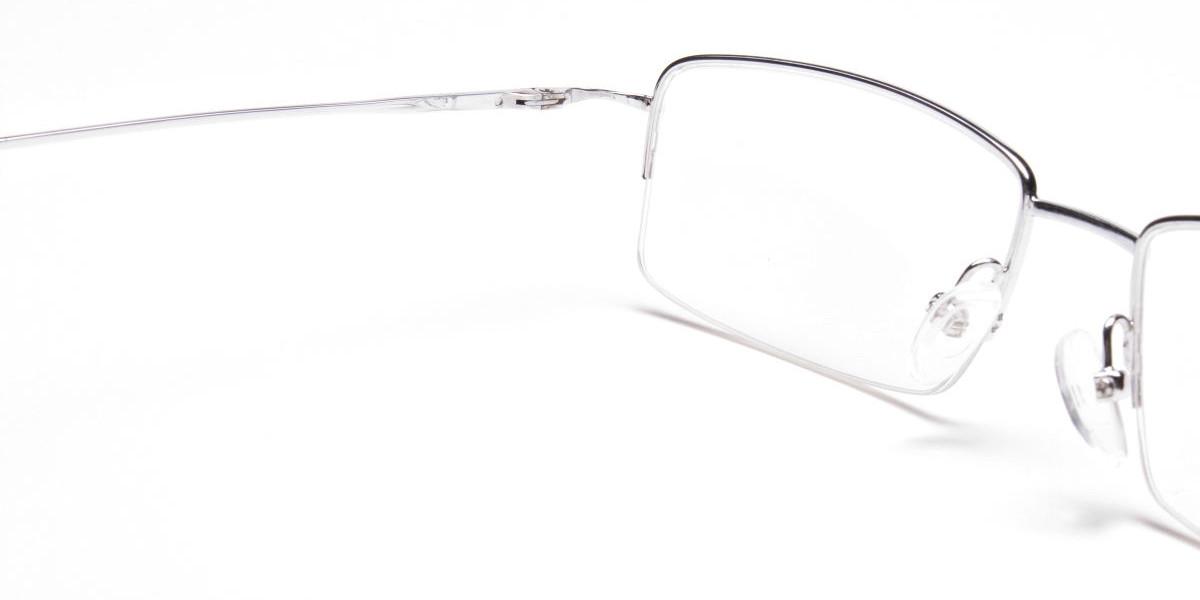 Silver Eyeglasses that Rock-1