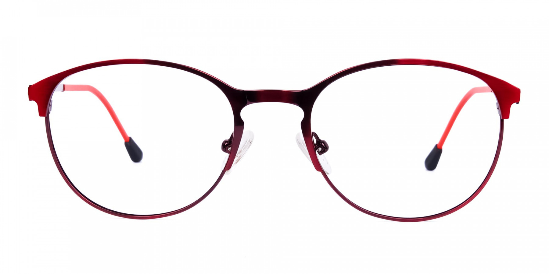 red oval glasses-1