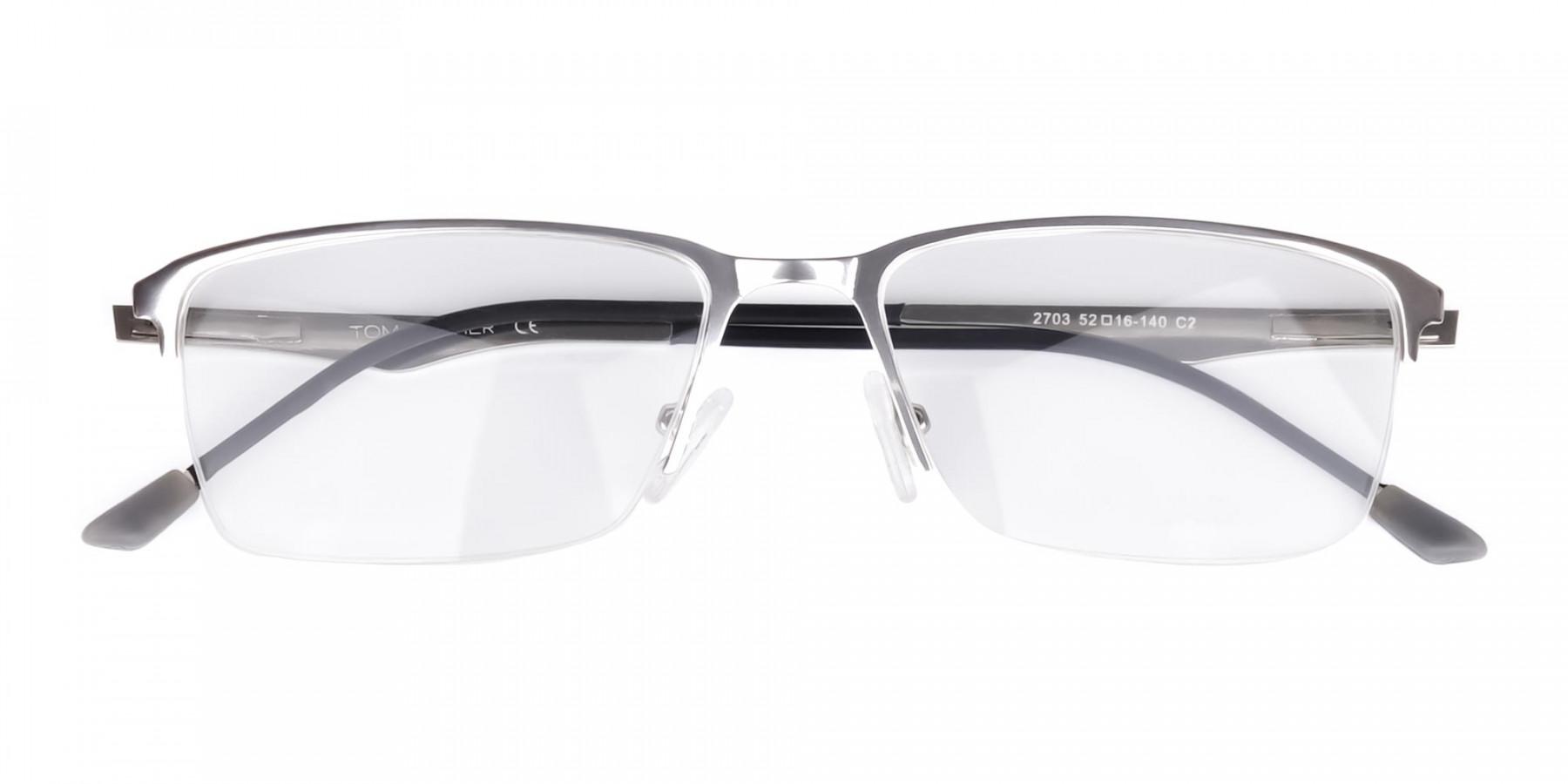 titanium rectangle glasses-1