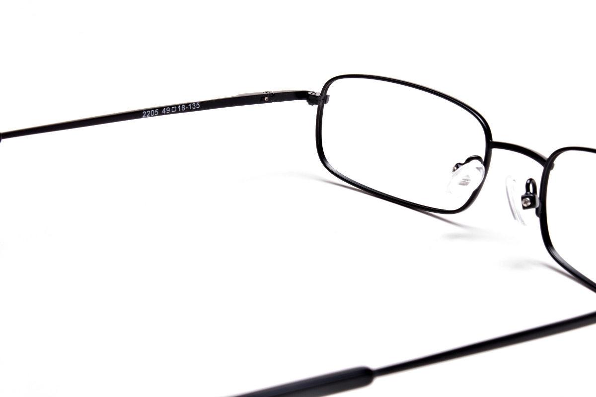 Rectangular Eyeglasses in Black, Eyeglasses - 1