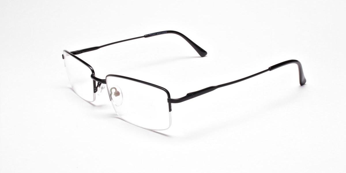 Rectangular glasses in Black - 1